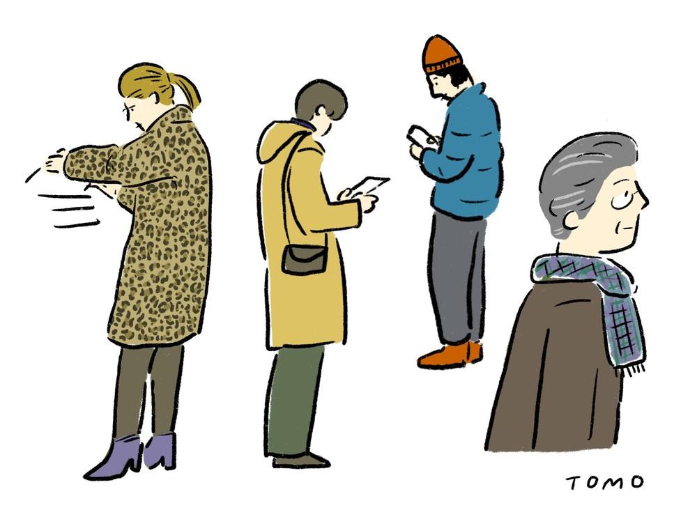 年齢もファッションもバラバラなお客さんに共通するのは探究心だ