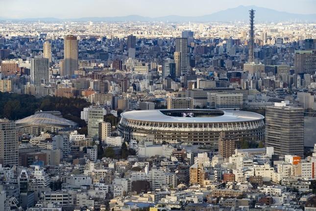 東京五輪の主会場になる新国立競技場