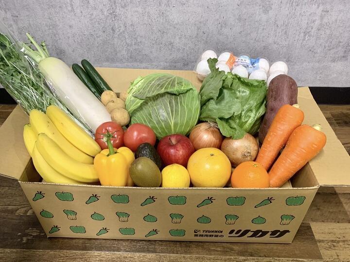 飲食店配達ネットワーク利用、新聞配達網つなぎ野菜を宅配