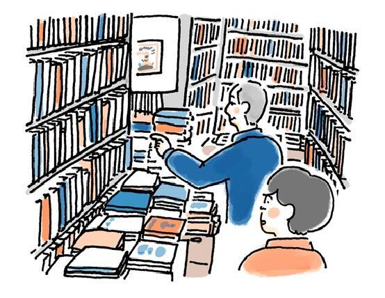 床から天井まで、子どもの本の世界が広がる