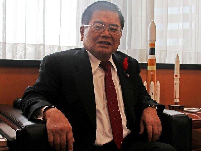 79歳の竹本直一氏がIT担当大臣で大丈夫?(2019年10月撮影)