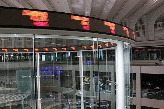 世界の株式市場が乱高下
