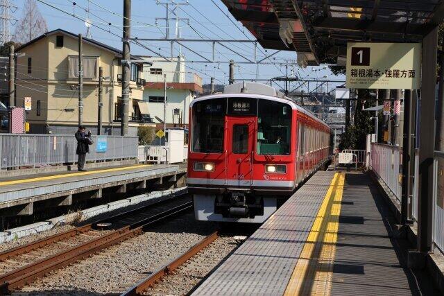 東京近郊のリゾート地、箱根ににぎわいは戻るのか?(写真は、箱根登山鉄道)