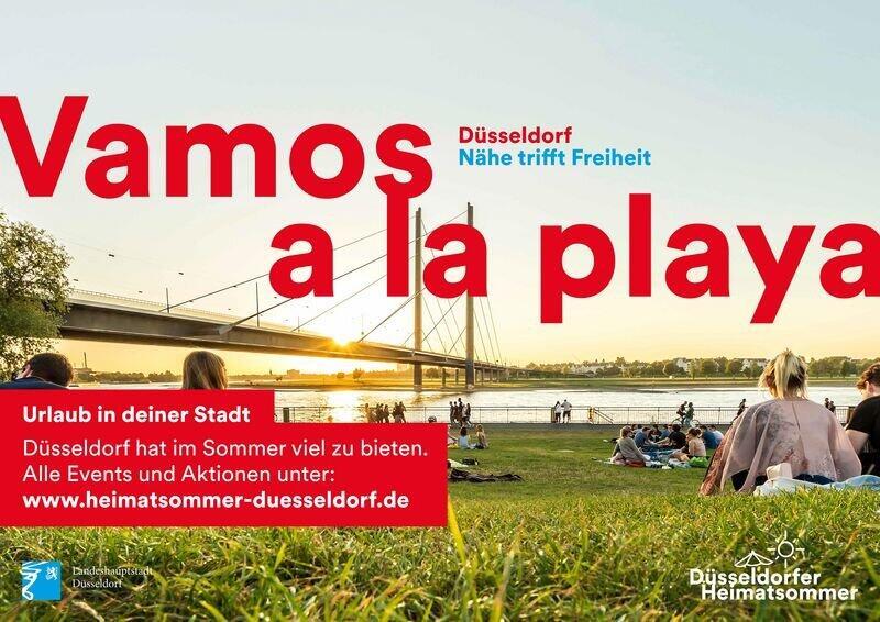 キャンペーンポスター(引用:Landeshauptstadt Düsseldorf)