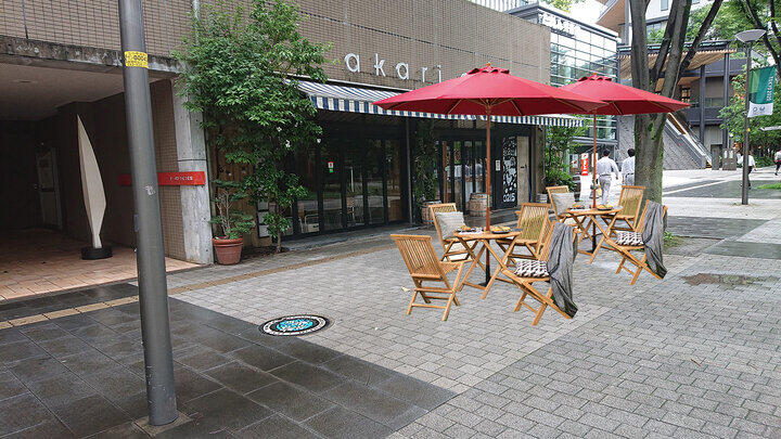 コロナ対策の道路占用特例でオープンカフェが可能に