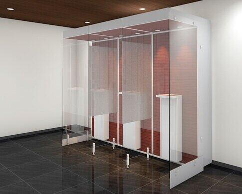3密回避の分煙化を実現する一人用喫煙室