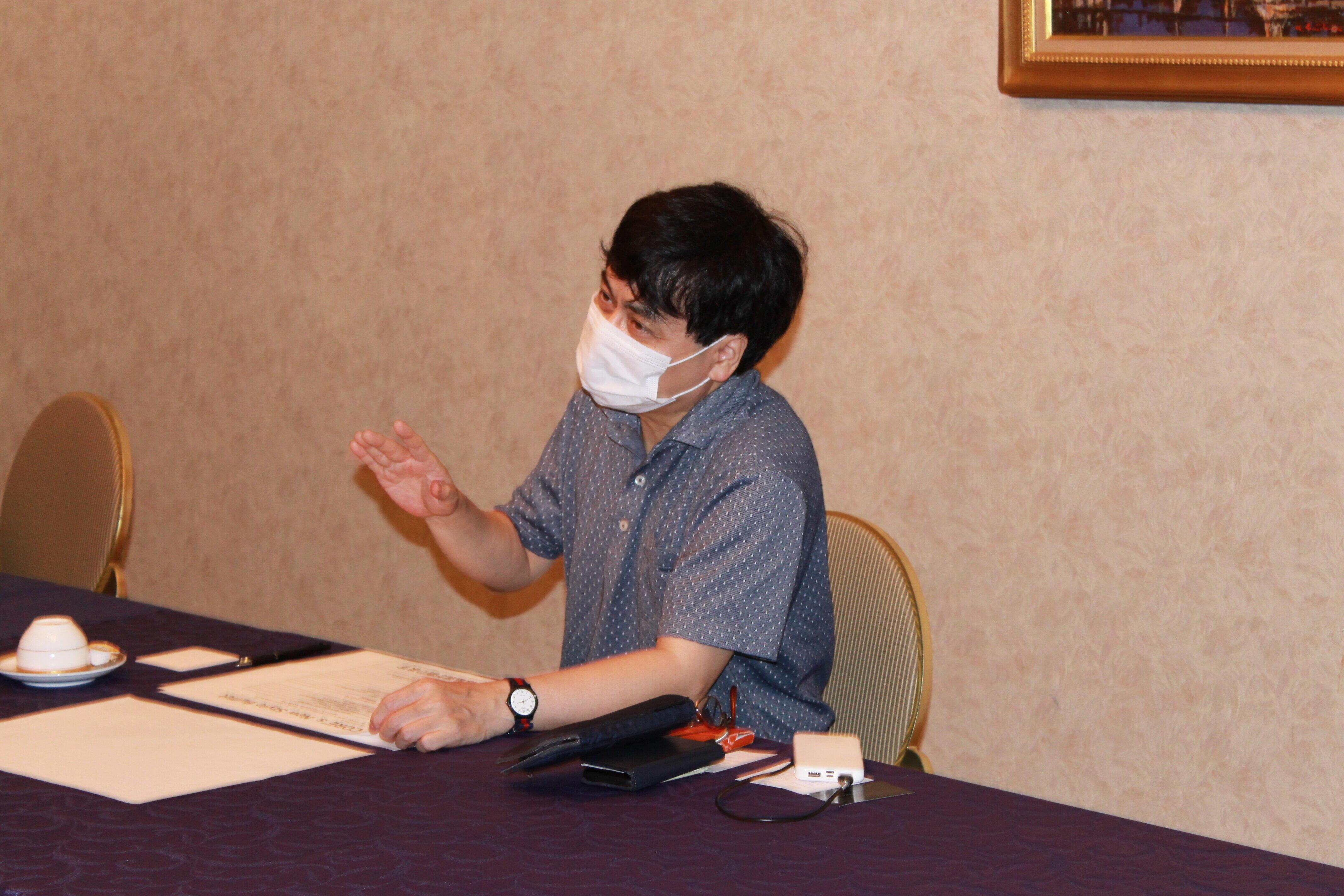 監修にあたった京都大学の宮沢孝幸准教授