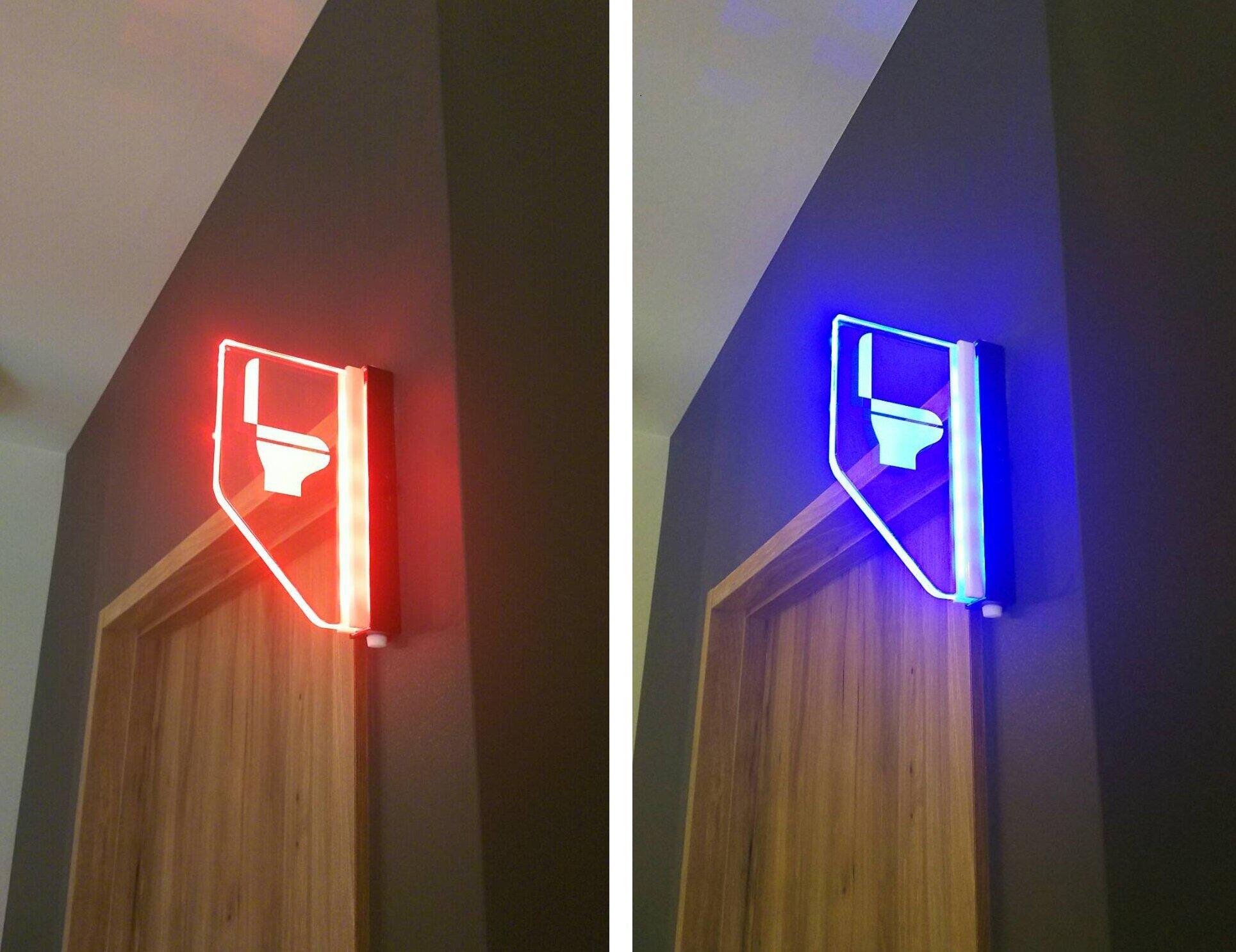 LEDで遠くからもわかりやすい