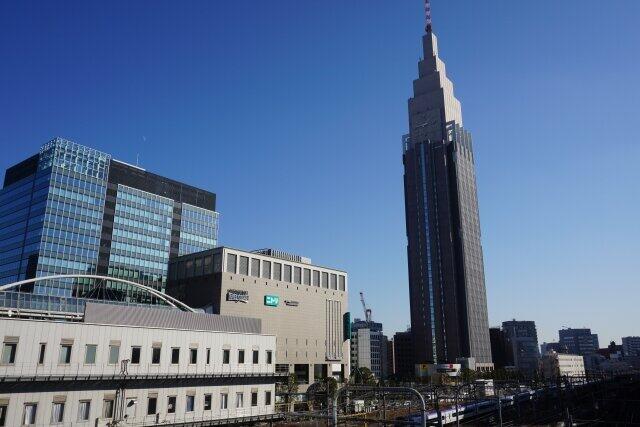 東京・新宿のドコモタワー