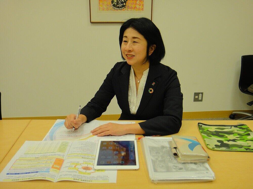 藤中麻里子さんは、ダイバーシティコミッティの第1期生だった