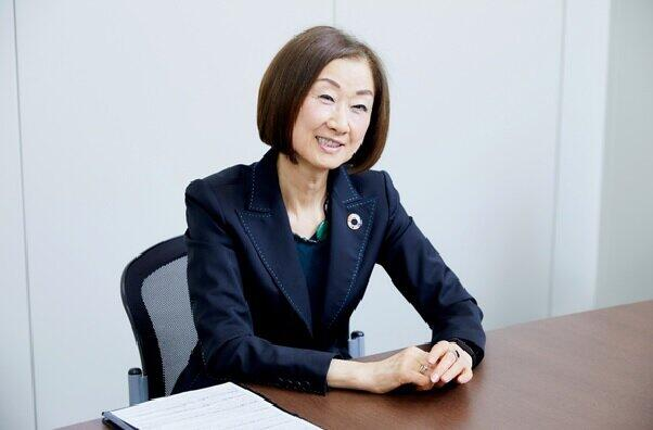 セブン-イレブン・ジャパン常務執行役員の藤本圭子さんは「あらゆる人材が活躍できる企業文化を創造するのが目的」と話す。