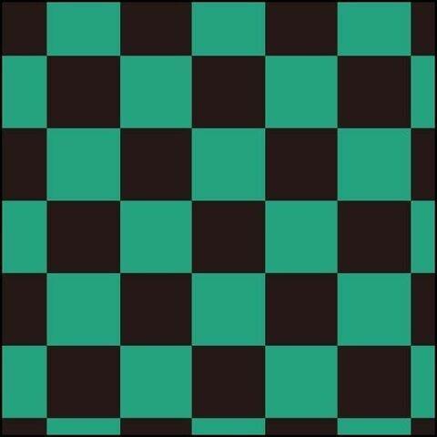 集英社が出願申請した竈門炭治郎のトレードマーク「黒と緑」の市松模様(出願番号2020-078058)
