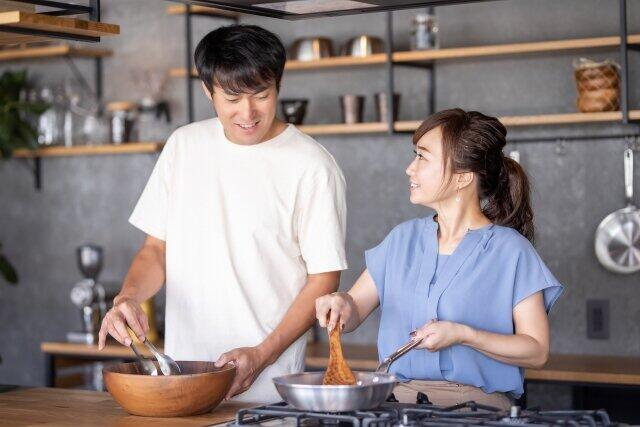 夫と一緒に料理を作れば楽しいが…