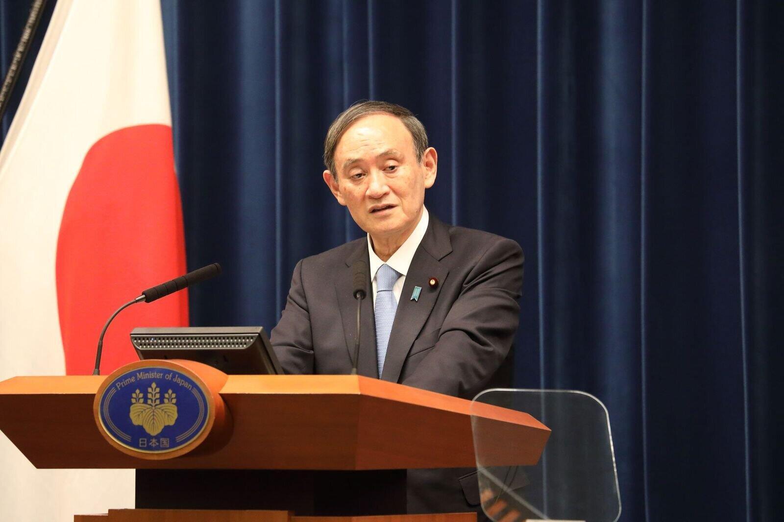 感染拡大に有効な手を打てない菅義偉首相