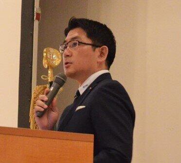 TKCの飯塚真規社長(公式サイトより)