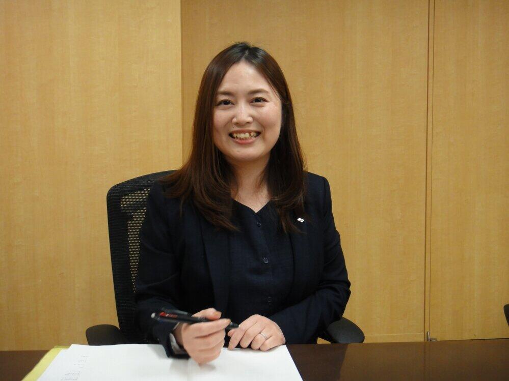 「職種に合わせてステップアップしていく研修制度を整えています」と話す磯野祥子さん