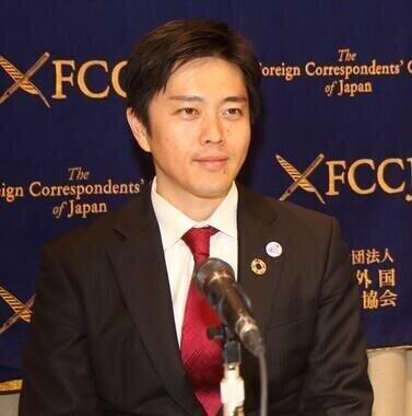 大阪府内の公道の聖火リレー中止を発表した吉村洋文知事