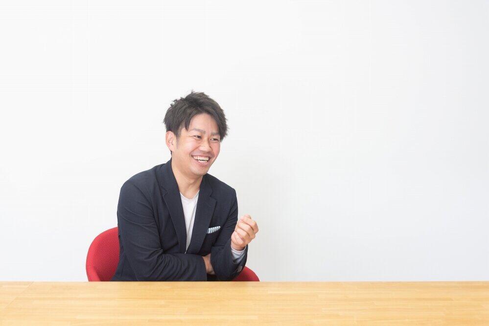 2021年1月5日、フロッグの誕生と同時に代表取締役に就任した菊池健生さん