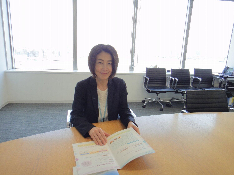 金丸恭子さんは「ダイバーシティの考え方は、当社のCREED(信条)にも明記されています」と説明した。