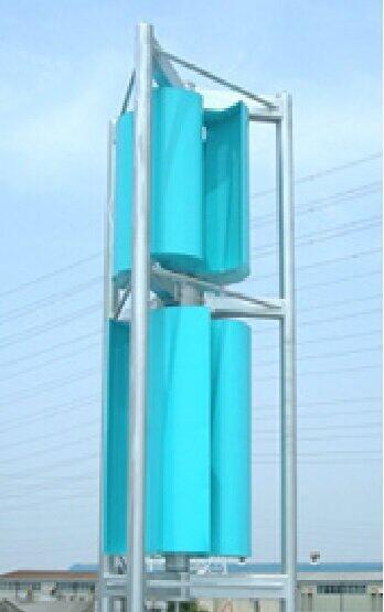 トルネード型風力発電は騒音もせず、広いスペースも必要ない
