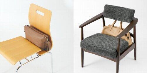 バッグインチェアのLightタイプ(写真左)、Salonタイプ(写真右)