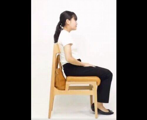 座り心地に問題はないという(画像はCafeタイプ、商品紹介動画よりキャプチャ)