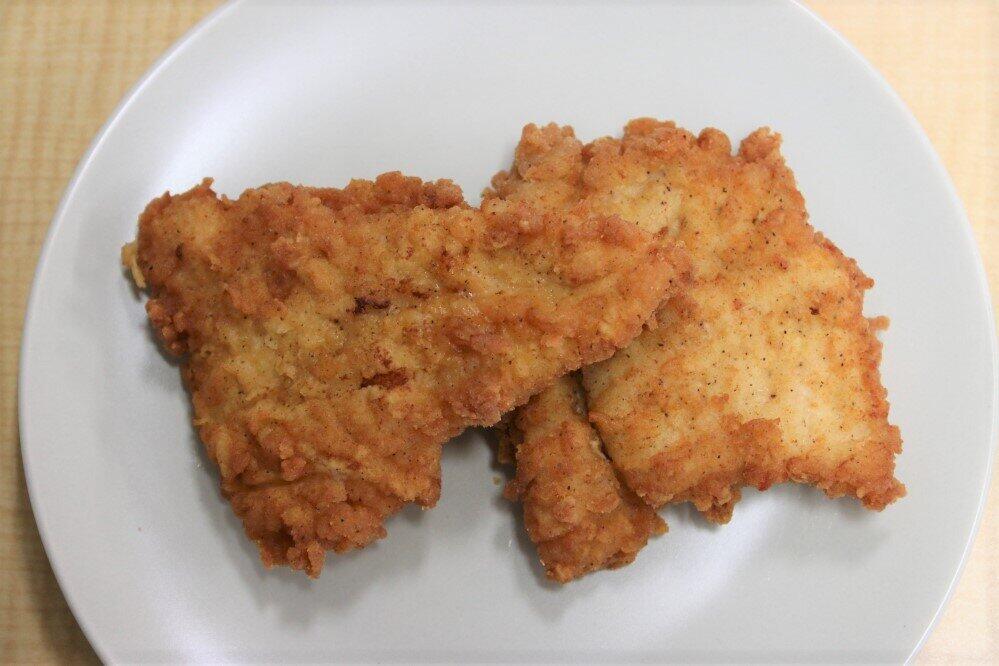 骨なしケンタッキー(2ピース、KFC四谷駅前店で購入)