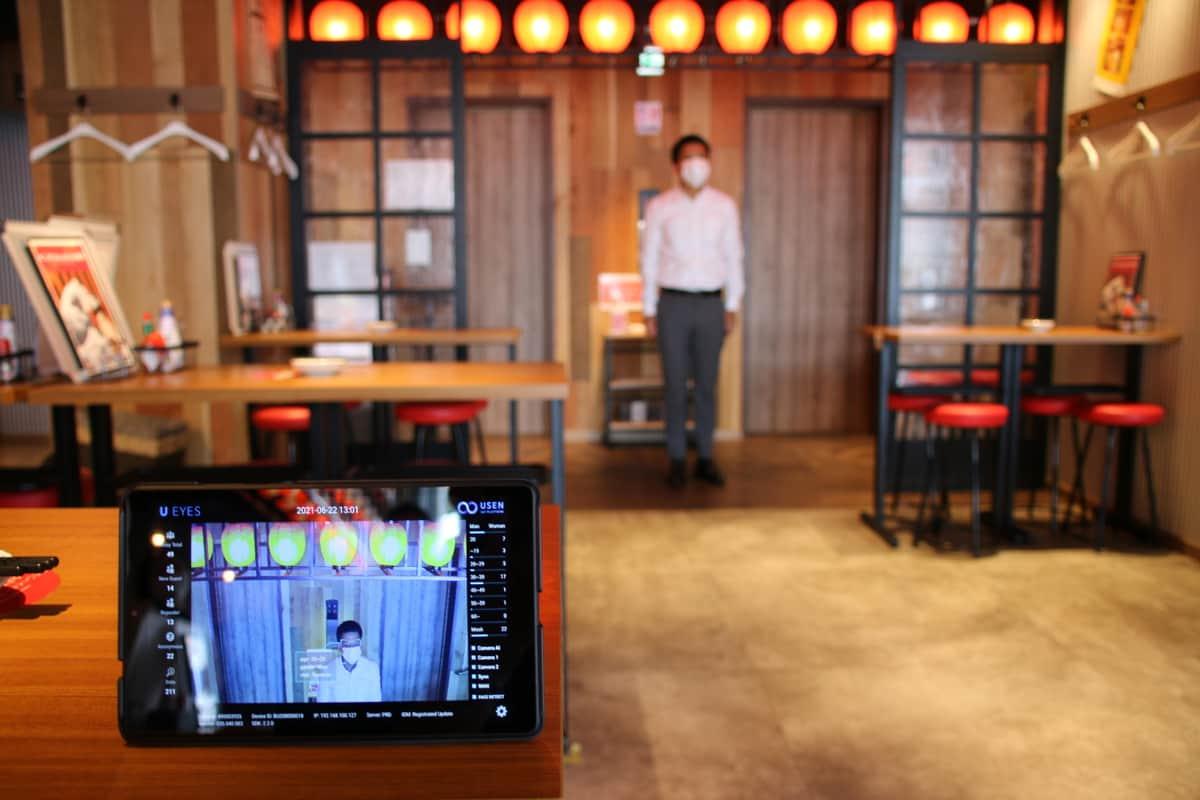 話題のお店に、年代がわかるAIカメラあり! お客好みのBGMがかかるシステムをUSENが開発