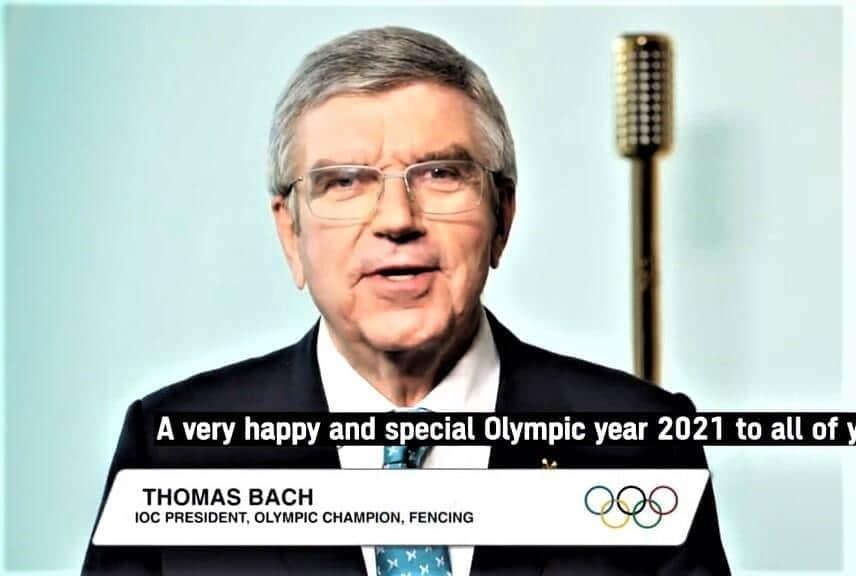 バッハ会長は「五輪だけが世界を一つにできる」と自画自賛