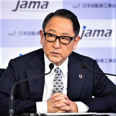 トヨタ自動車の豊田章男社長(公式サイトより)