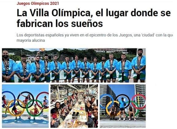 「ノーマスク」の選手ばかりであることを報じるスペインのマルカ紙(7月19日付)