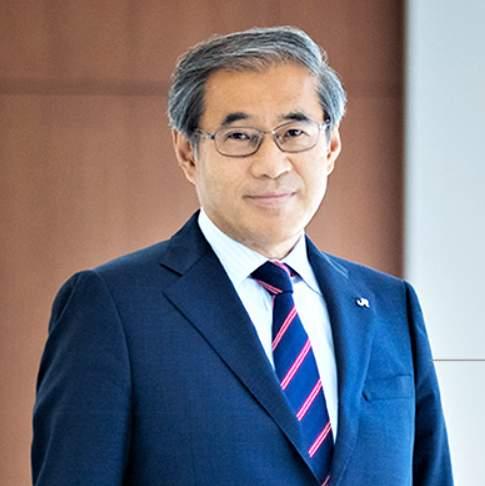 オフピーク定期券導入を発表したJR東日本の深沢祐二社長