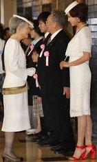 皇后陛下、藤原紀香さんに労いの言葉 全国赤十字大会