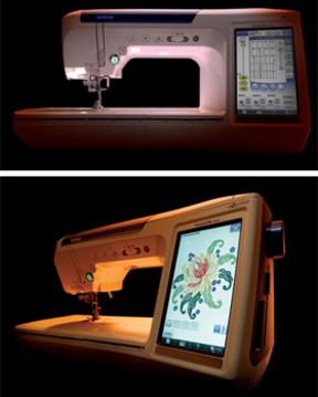 パソコン使って自在に刺繍  21世紀ミシン「クアトロ」の実力