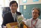 台湾・高雄市が被災小学校へ贈り物 「水害時の支援に感謝」のフルーツ