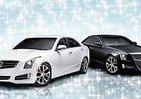白ダイヤと黒ダイヤ 「キャデラックATS」特別限定車2種類10台ずつ