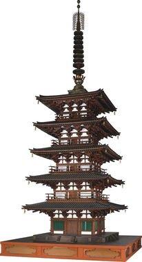 国宝 元興寺極楽坊五重小塔 奈良時代・8世紀 奈良・元興寺蔵