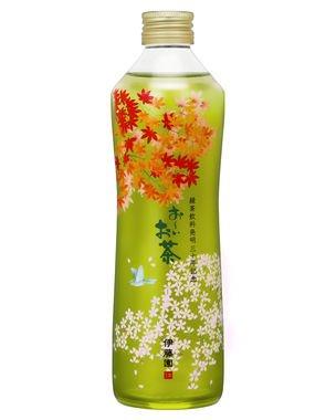 「お~いお茶 瓶入り緑茶」375ミリリットル瓶