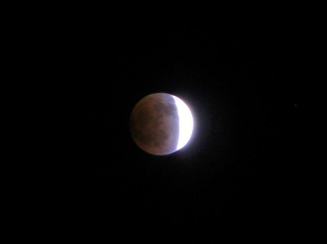 2011年12月10日の皆既日食