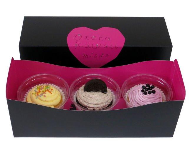 黒とピンクを基調とした専用ボックスは女子会への手土産にもおすすめなんだとか