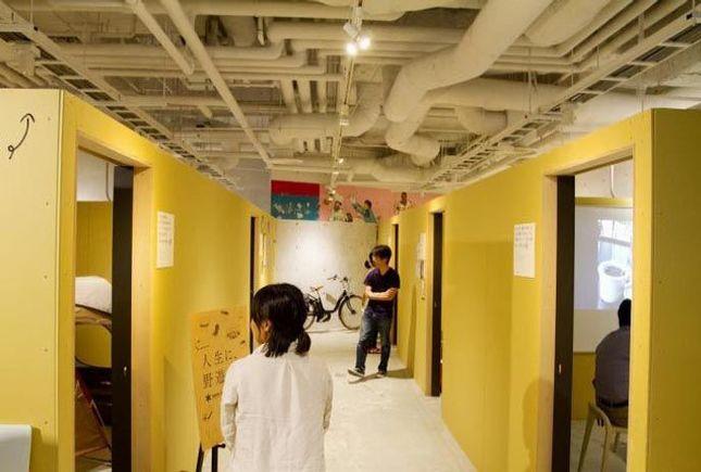 学生時代の部室をイメージした「BUSHITSU」