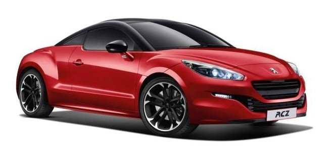 プジョー「RCZ RED CARBON」