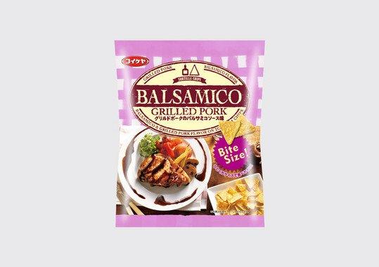 トルティアチップス グリルドポークのバルサミコソース味