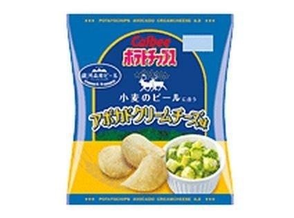 ポテトチップス アボカドクリームチーズ味