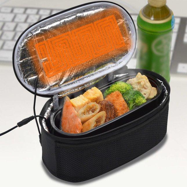 USB電熱保温弁当箱ポーチ