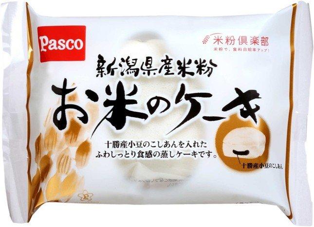 新潟県産米粉「お米のケーキ」