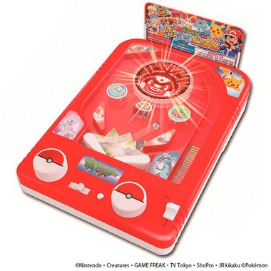 「ポケモン ゲームファクトリー ポケットモンスター XY 光る!くるくるピンボール」 (C)Nintendo・Creatures・GAME FREAK・TV Tokyo・ShoPro・JR Kikaku (C)Pokemon