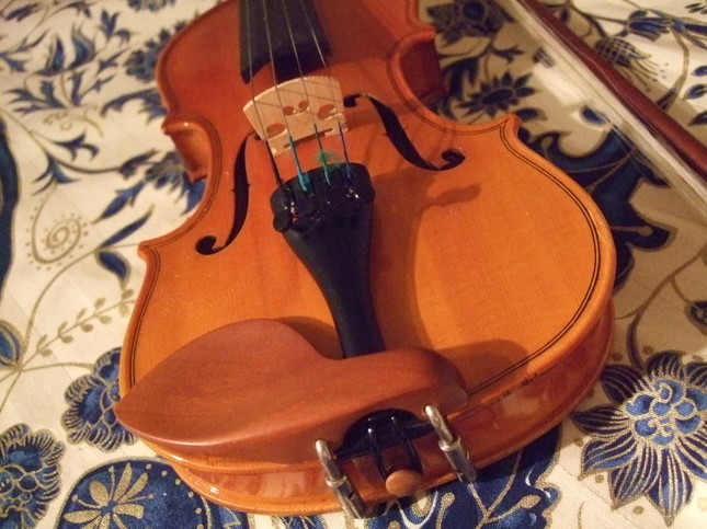 小さなヴァイオリンのある風景