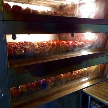 焼きりんごから製造