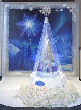 「ディズニー プラチナクリスマスツリー~アナと雪の女王~」 (C)Disney